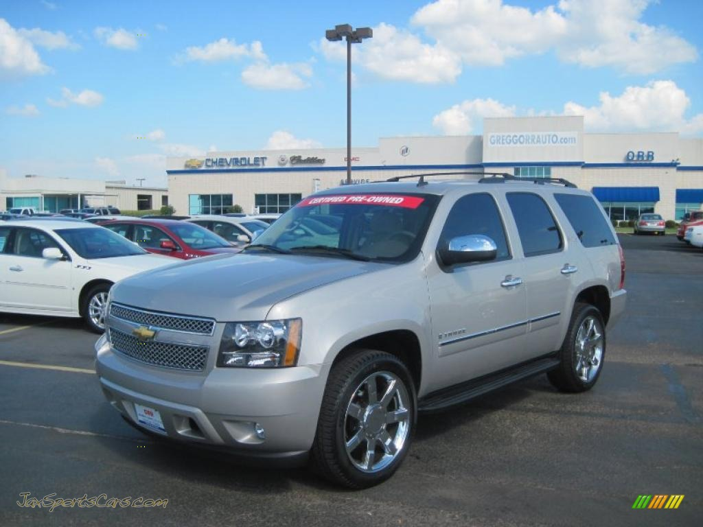 2009 Chevrolet Tahoe Ltz In Silver Birch Metallic 126947