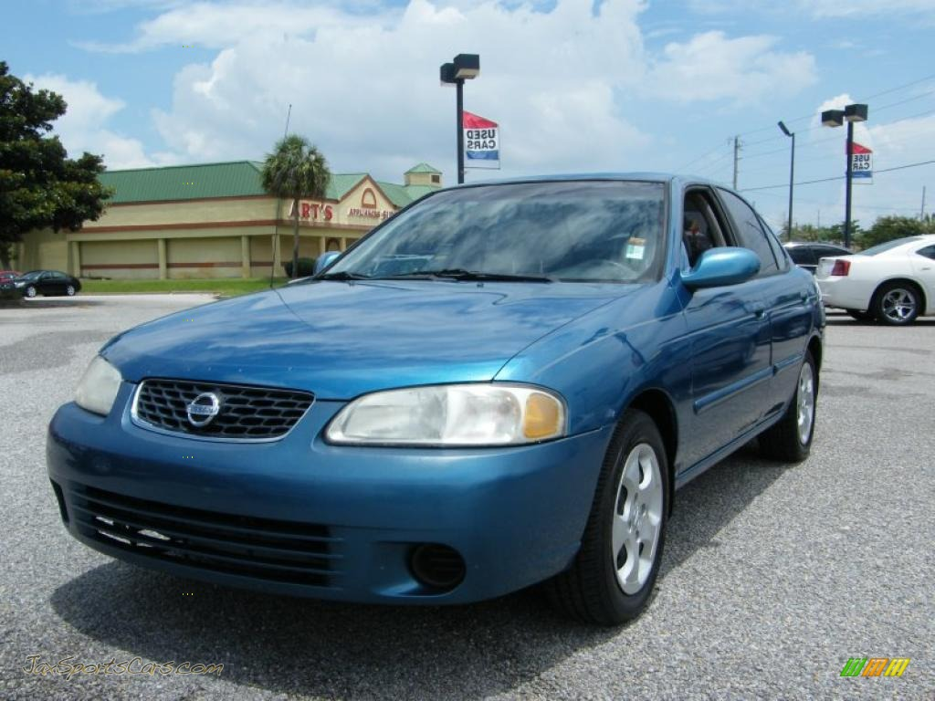2003 Nissan Sentra Gxe In Vibrant Blue Metallic 813833
