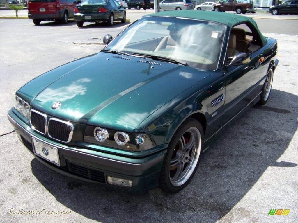 BMW Series I Convertible In Boston Green Metallic - Bmw 323i convertible for sale