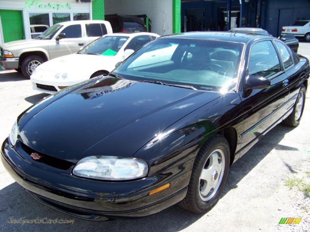 1999 Chevrolet Monte Carlo Z34 In Black 273513 Jax