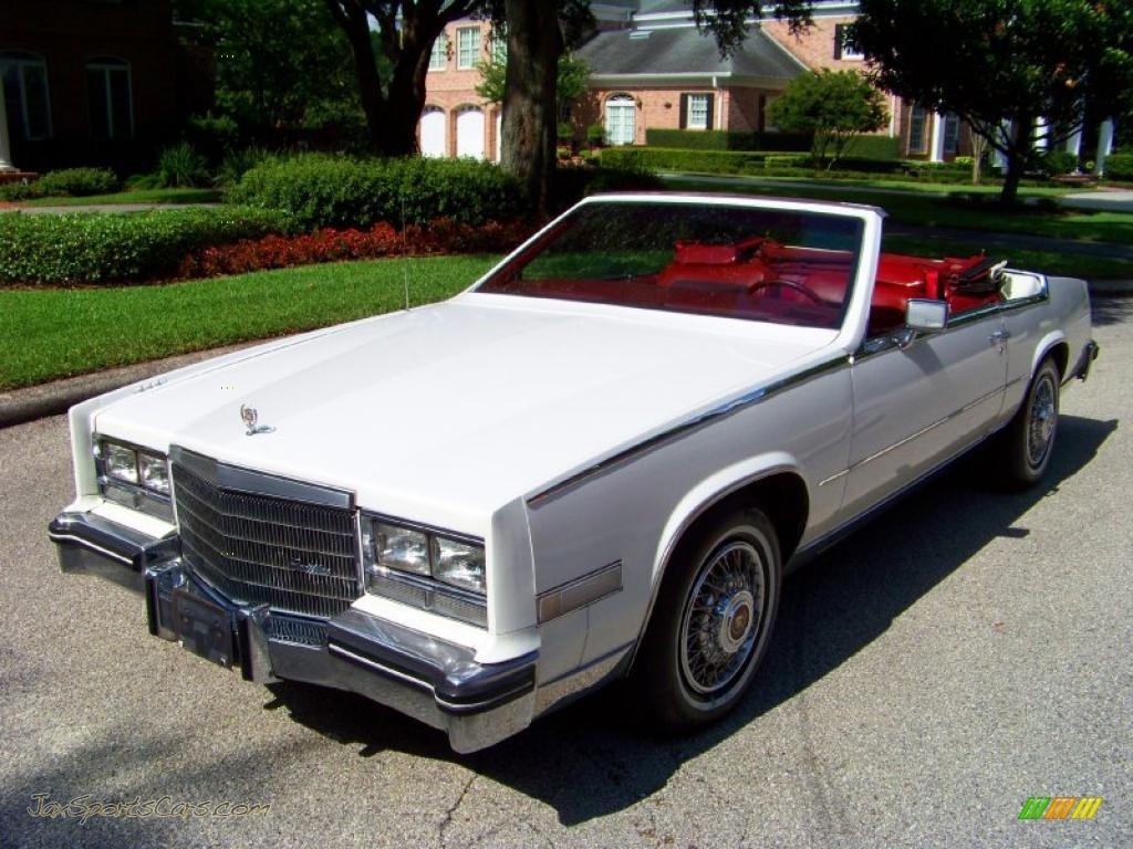 1985 Cadillac Eldorado Biarritz Convertible In White