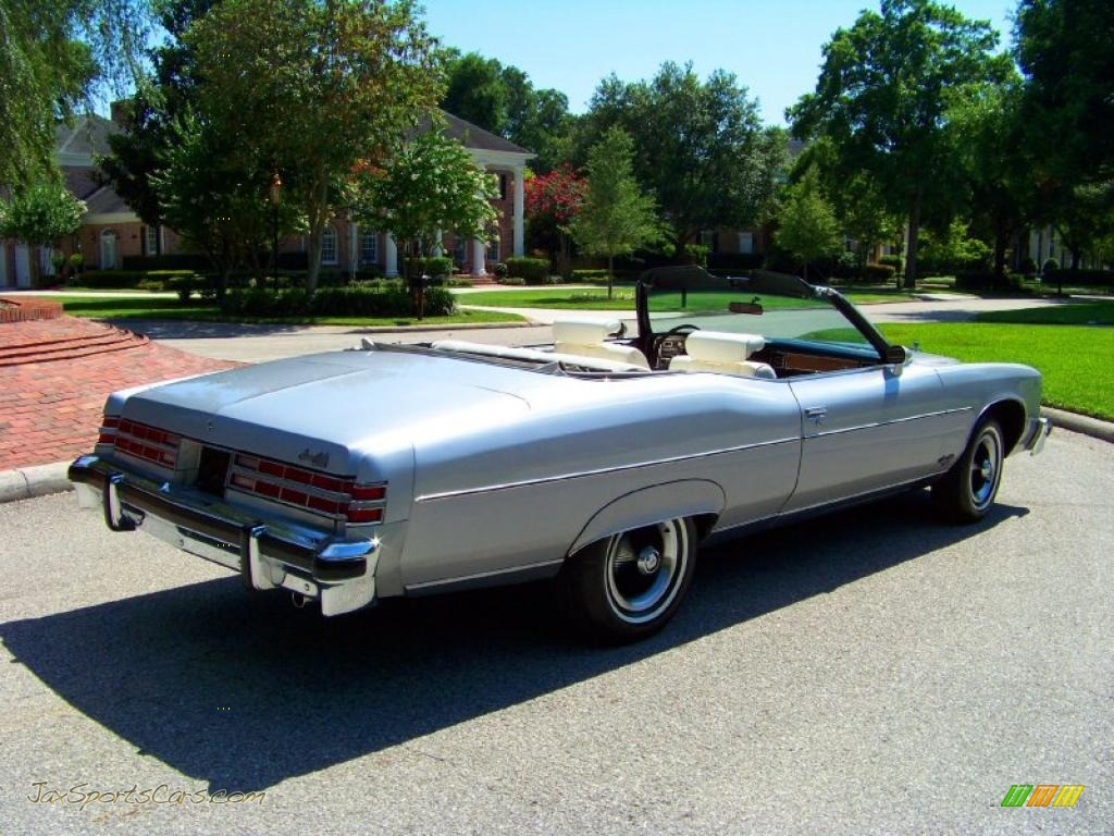 1975 Pontiac Bonneville Grand Ville Brougham Convertible in Sterling ...