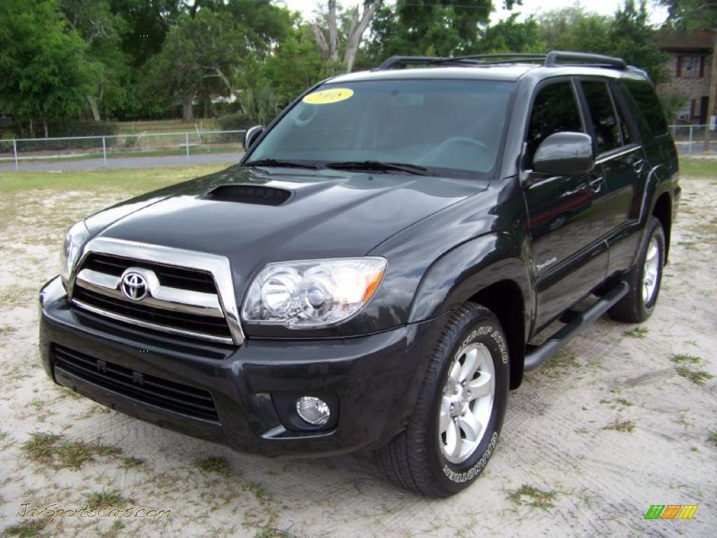 2008 toyota 4runner sport edition in shadow mica 005625 jax sports cars cars for sale in. Black Bedroom Furniture Sets. Home Design Ideas