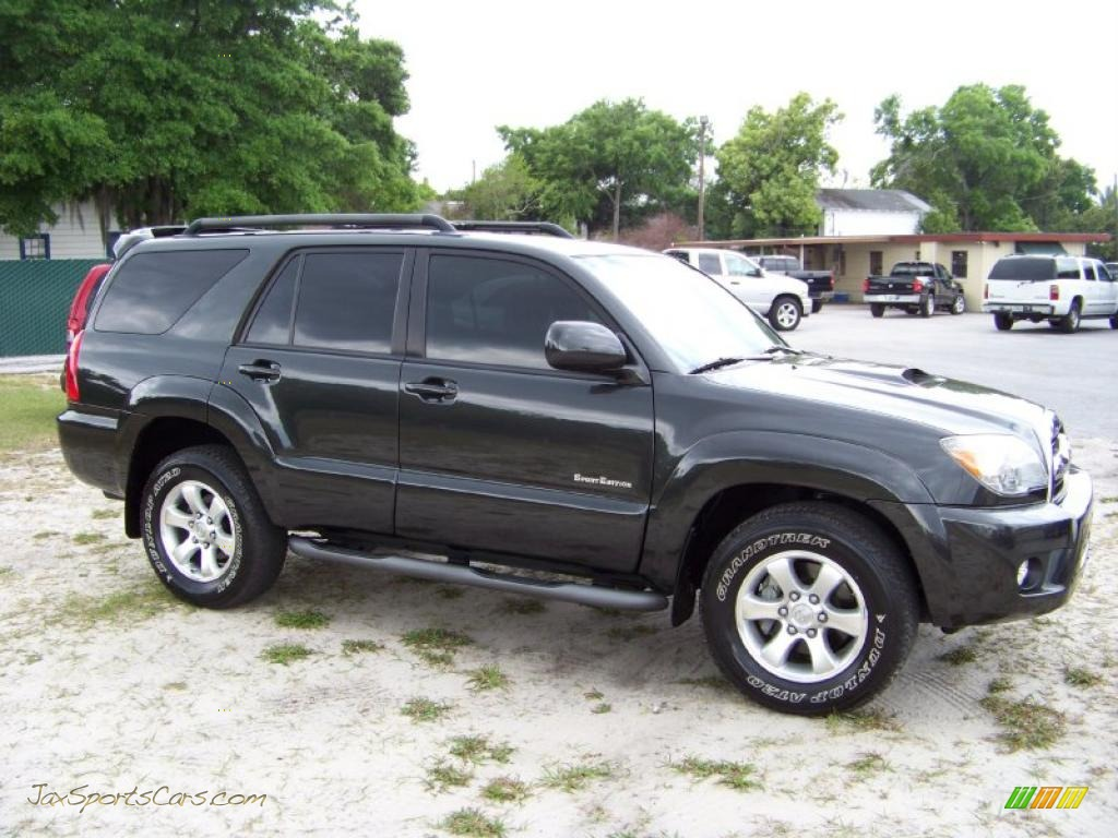 2008 toyota 4runner sport edition in shadow mica photo 4 005625 jax sports cars cars for. Black Bedroom Furniture Sets. Home Design Ideas
