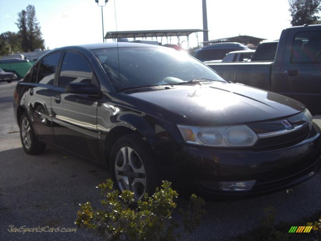 2005 Nissan Altima For Sale >> 2003 Saturn ION 3 Sedan in Black photo #3 - 132464 | Jax ...