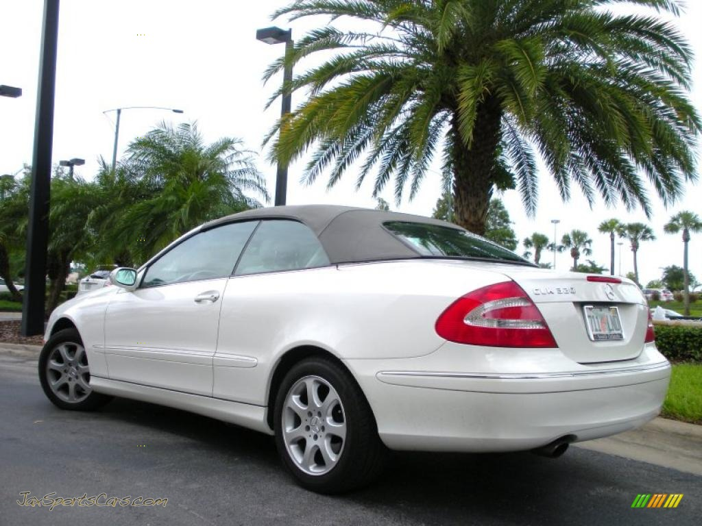 2004 Mercedes-Benz CLK 320 Cabriolet in Alabaster White ...
