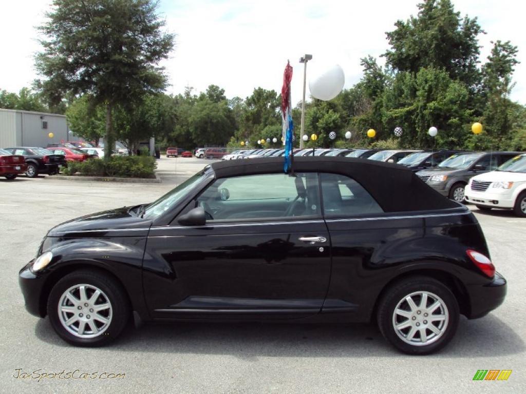 2007 Chrysler PT Cruiser Convertible in Black photo #2 - 582902 | Jax ...