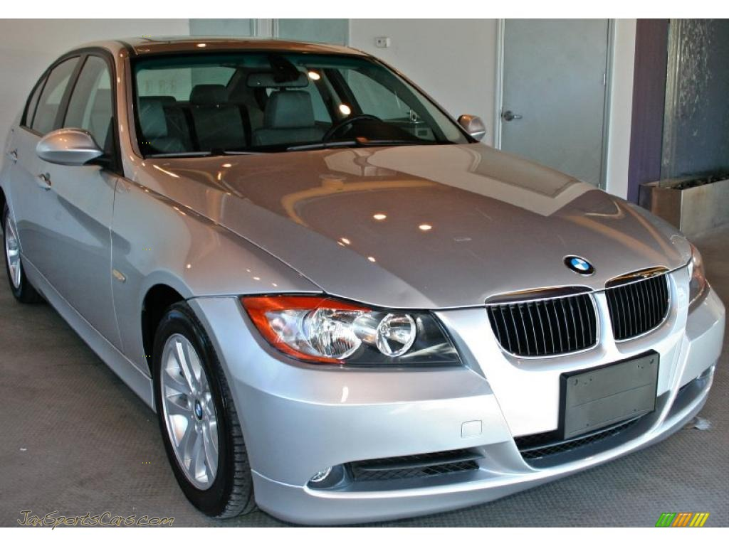2007 bmw 3 series 328i sedan in titanium silver metallic l10440 jax sports cars cars for. Black Bedroom Furniture Sets. Home Design Ideas