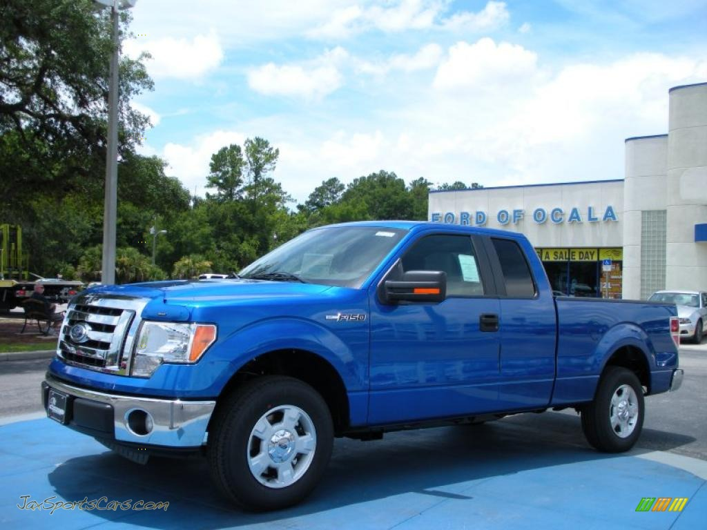 2010 ford f150 xlt supercab in blue flame metallic c82289 jax sports cars cars for sale in. Black Bedroom Furniture Sets. Home Design Ideas