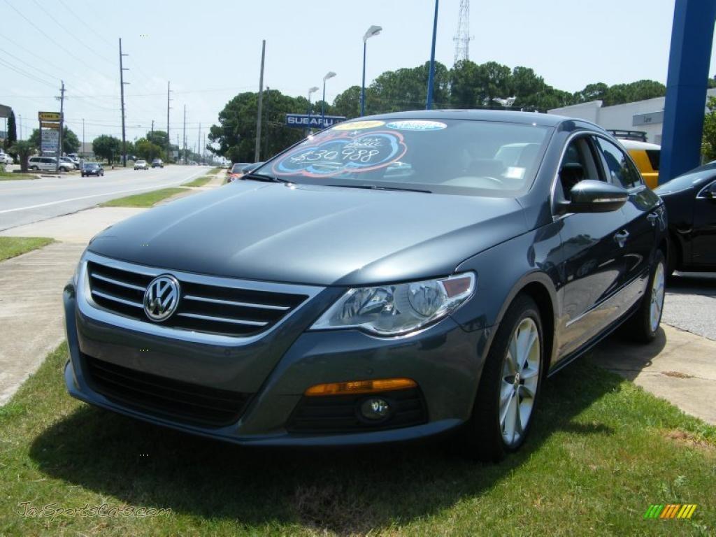 2010 Volkswagen CC Luxury in Island Grey Metallic photo #8 ...