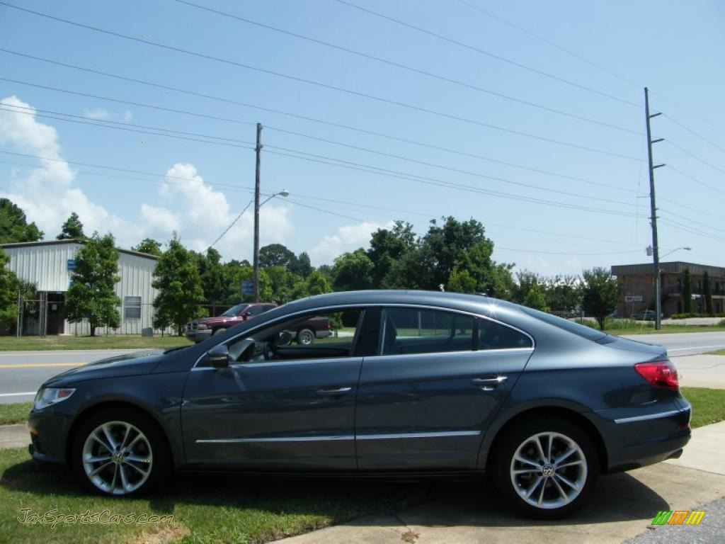 2010 Volkswagen CC Luxury in Island Grey Metallic photo #2 ...