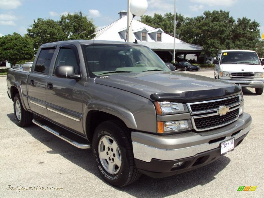 2006 chevrolet silverado 1500 z71 crew cab 4x4 in graystone metallic photo 10 268690 jax. Black Bedroom Furniture Sets. Home Design Ideas