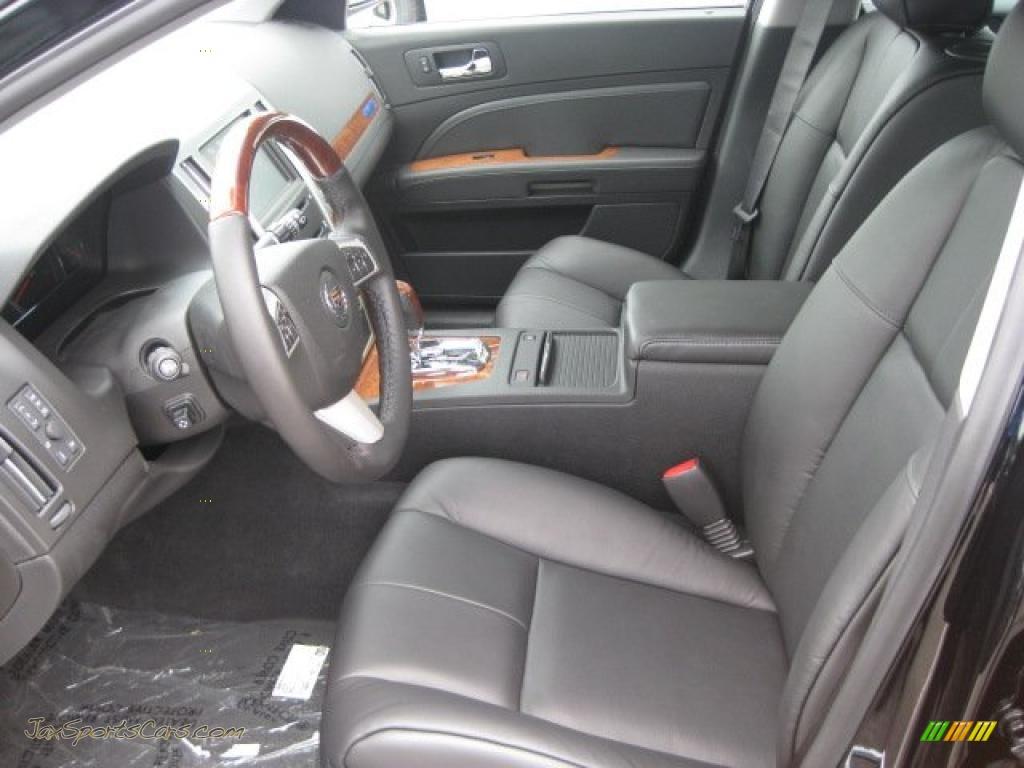 2011 Cadillac Sts 4 V6 Awd Premium In Black Raven Photo 5