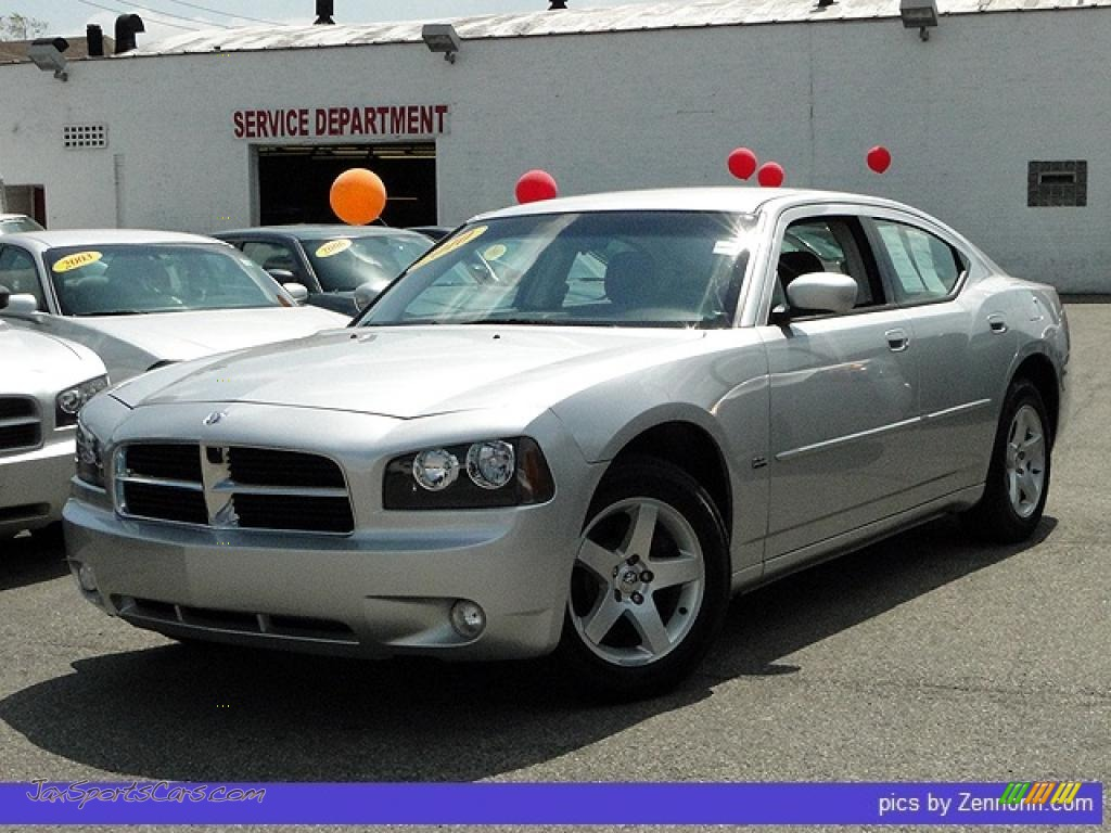 2010 dodge charger sxt in bright silver metallic 119821 jax sports cars cars for sale in. Black Bedroom Furniture Sets. Home Design Ideas
