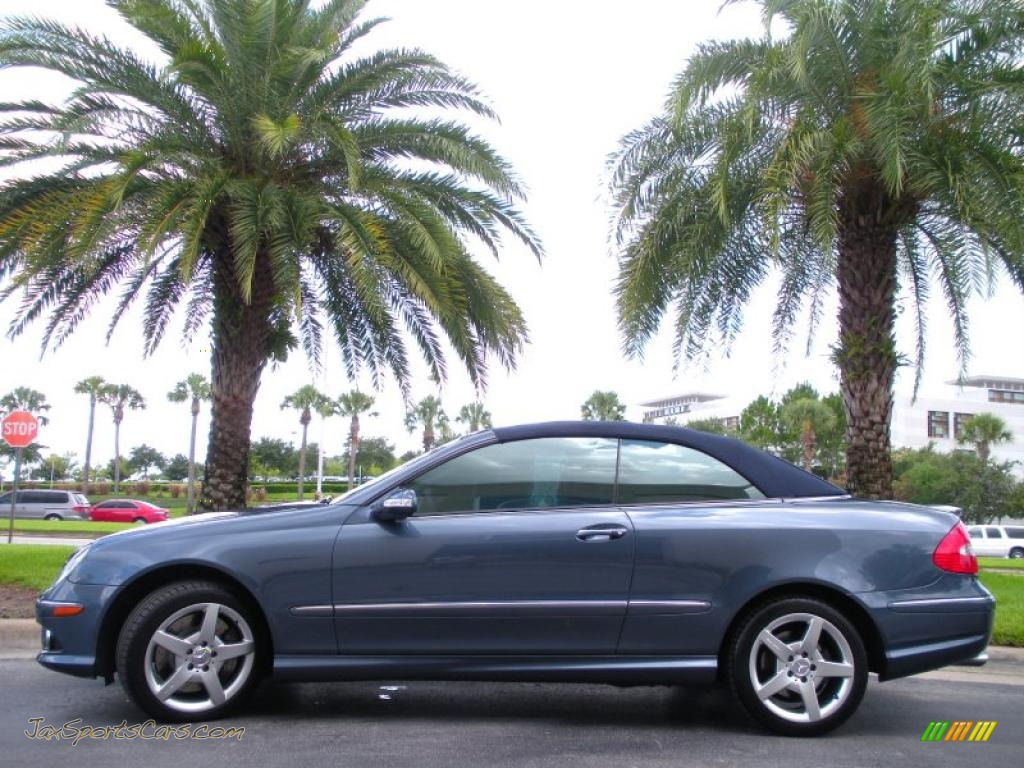 2007 mercedes benz clk 550 cabriolet in cadet blue for 2007 mercedes benz clk550