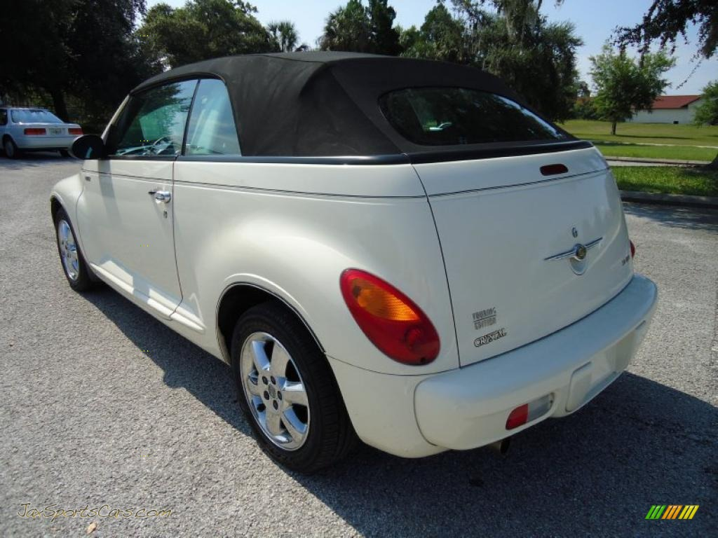 2005 chrysler pt cruiser touring turbo convertible in cool vanilla white photo 3 287033 jax. Black Bedroom Furniture Sets. Home Design Ideas