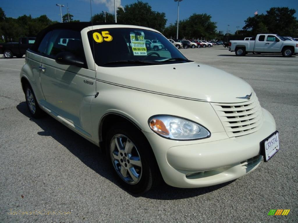 2005 chrysler pt cruiser touring turbo convertible in cool vanilla white photo 10 287033. Black Bedroom Furniture Sets. Home Design Ideas