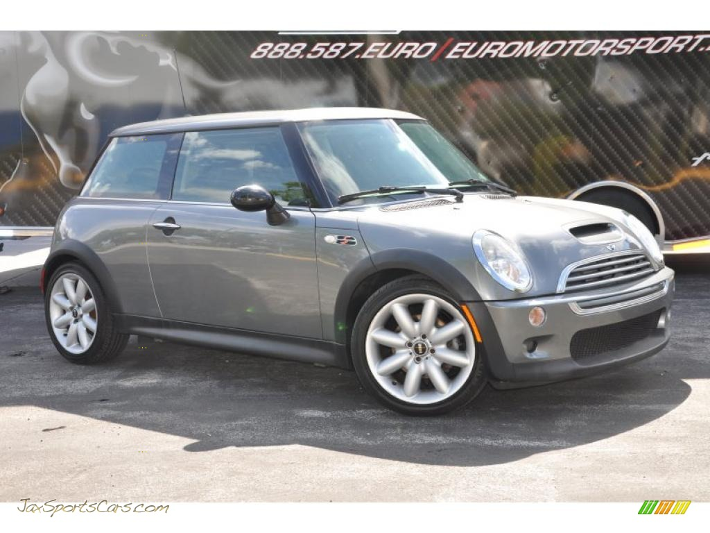 2004 Mini Cooper S Hardtop In Dark Silver Metallic