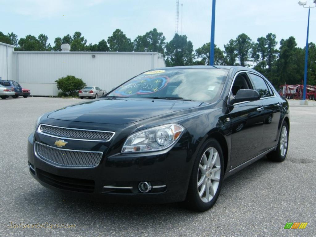 2008 chevrolet malibu ltz sedan in black granite metallic photo 5 257167 jax sports cars. Black Bedroom Furniture Sets. Home Design Ideas