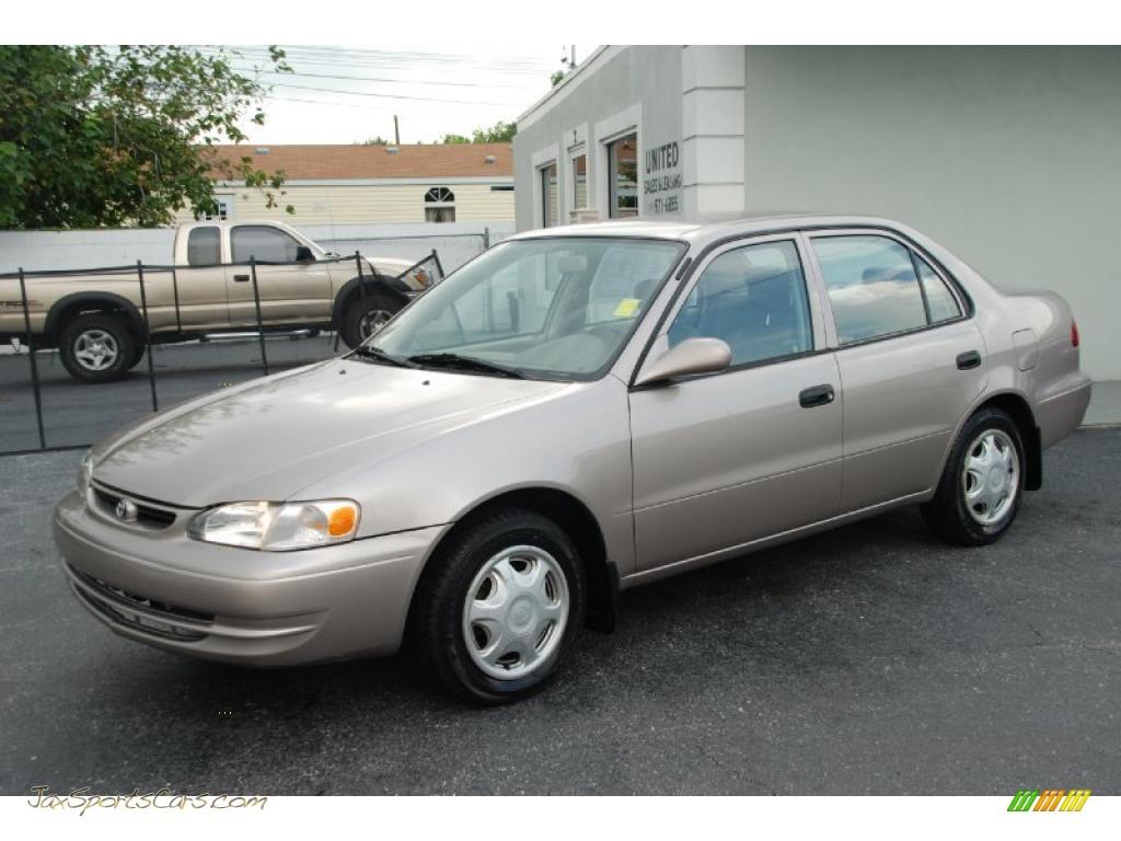Sunshine Auto Sales >> 2000 Toyota Corolla VE in Sandrift Metallic - 383773 | Jax ...