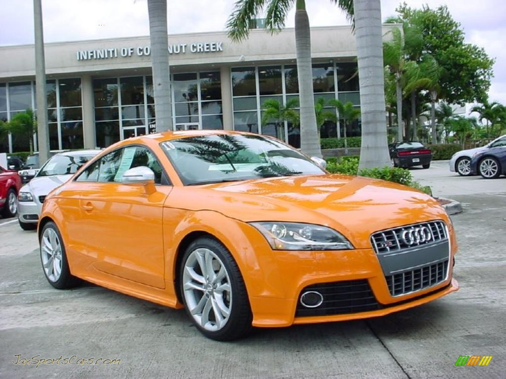 2010 audi tt s 2 0 tfsi quattro coupe in solar orange 016162 jax sports cars cars for sale. Black Bedroom Furniture Sets. Home Design Ideas