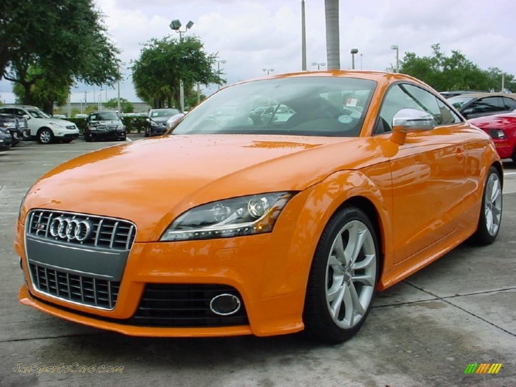 2010 Audi Tt S 2 0 Tfsi Quattro Coupe In Solar Orange