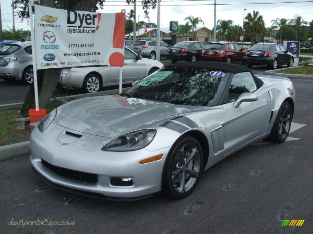 2011 Chevrolet Corvette Grand Sport Convertible In Blade