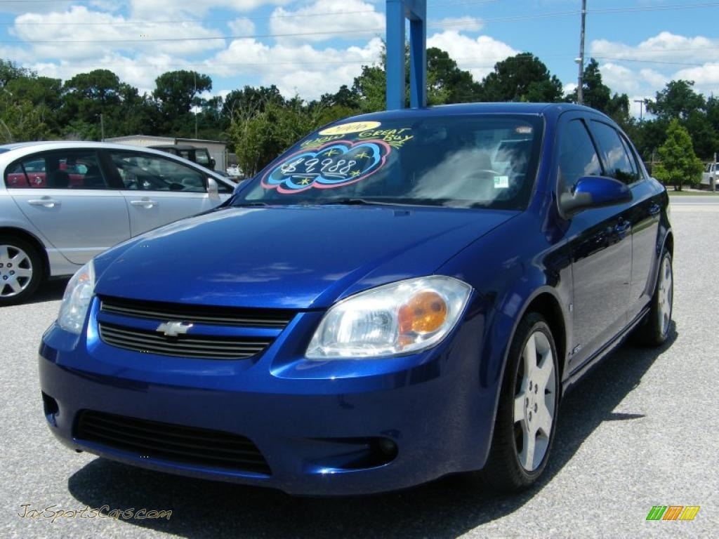 2006 Chevrolet Cobalt SS Sedan in Laser Blue Metallic ...