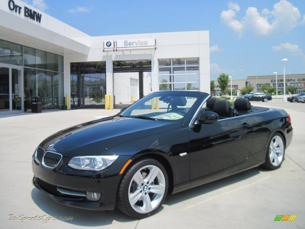 2011 Bmw 3 Series 328i Convertible In Jet Black 537714