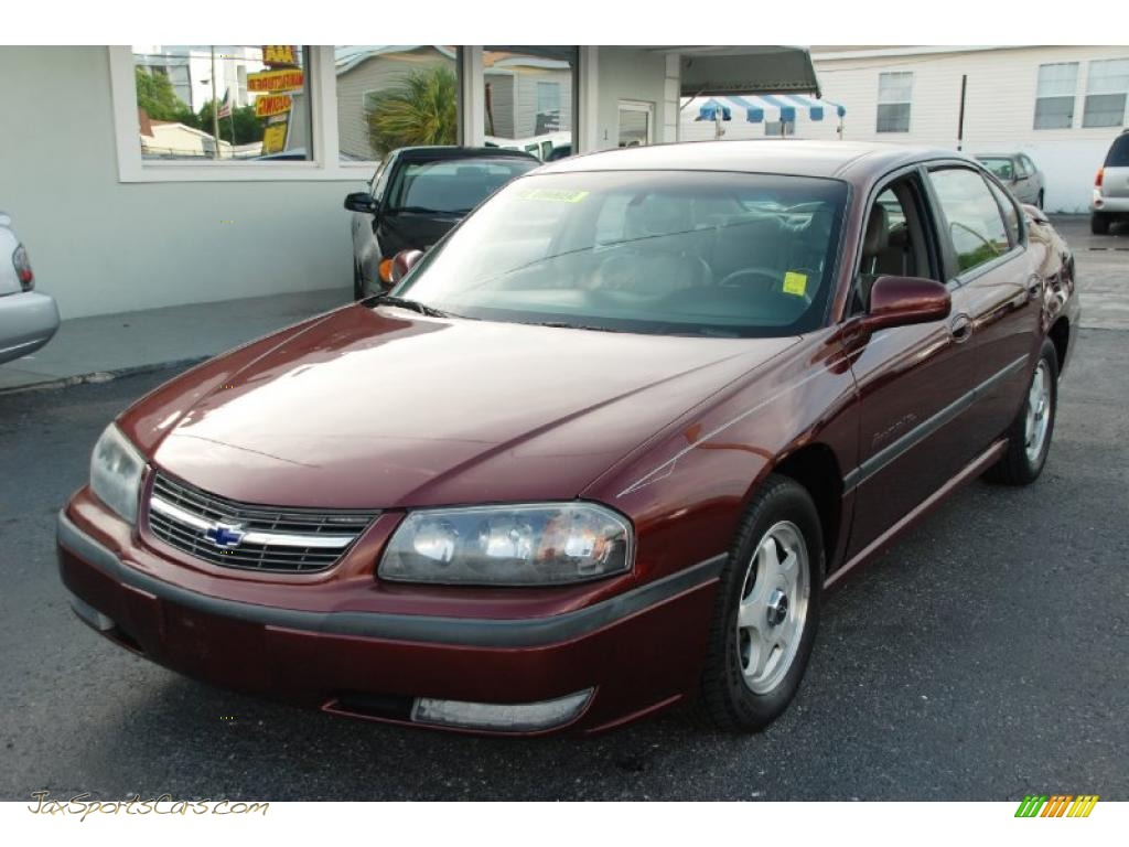 2000 chevrolet impala ls in dark carmine red metallic 247427 jax sports cars cars for sale. Black Bedroom Furniture Sets. Home Design Ideas