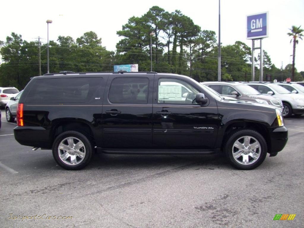 2011 gmc yukon xl slt in onyx black 100987 jax sports cars cars for sale in florida. Black Bedroom Furniture Sets. Home Design Ideas