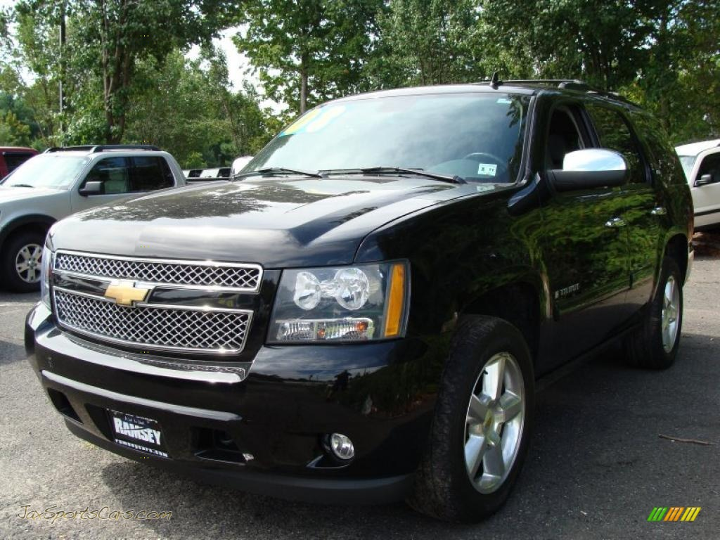 2008 tahoe ltz 4x4 black ebony photo 1