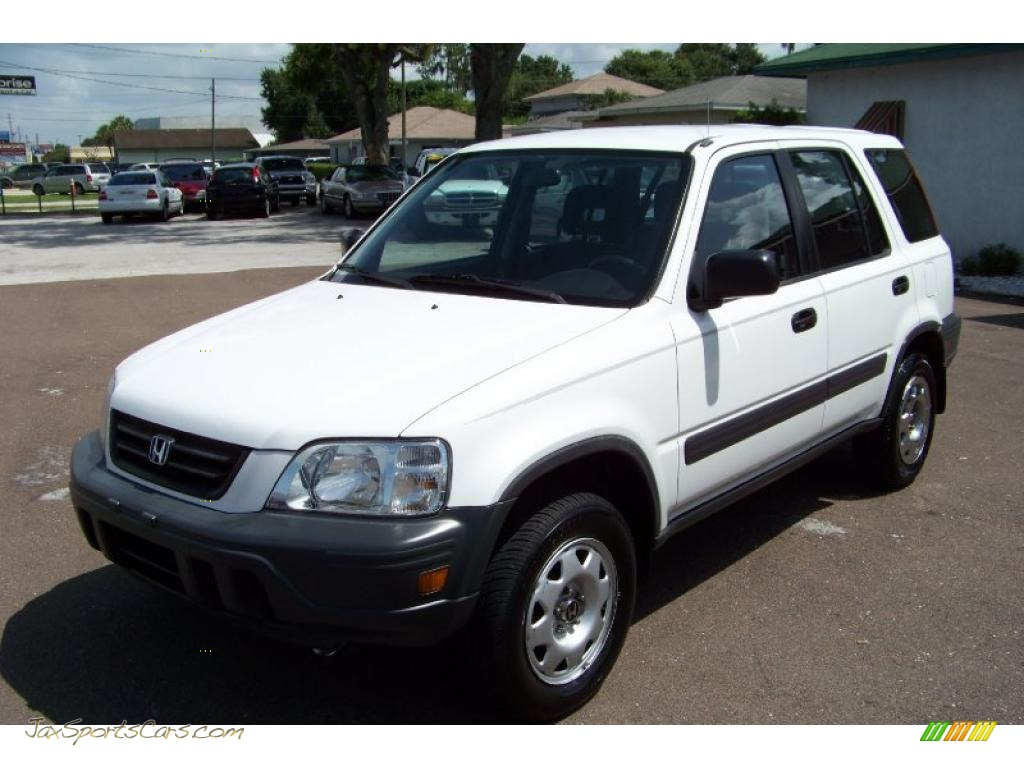 2000 Honda Cr V Lx In Taffeta White 006620 Jax Sports