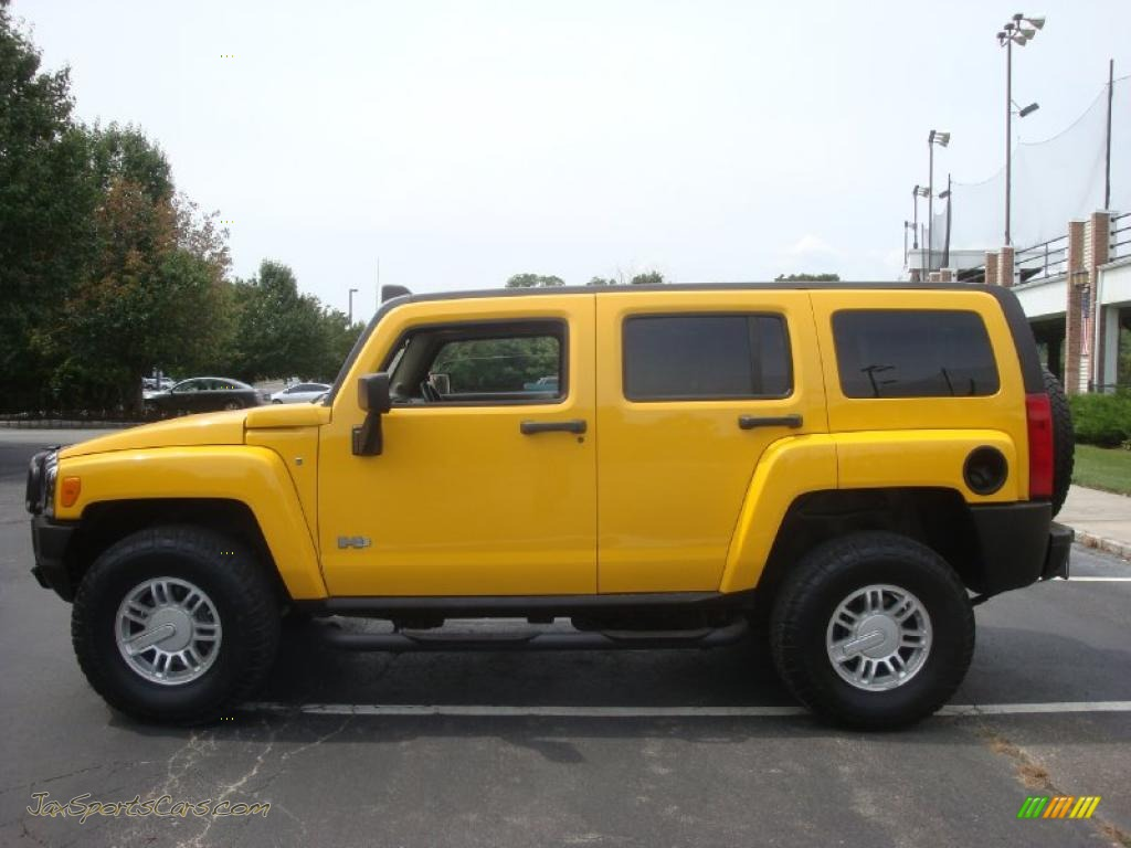2006 Hummer H3 In Yellow Photo 3 252501 Jax Sports
