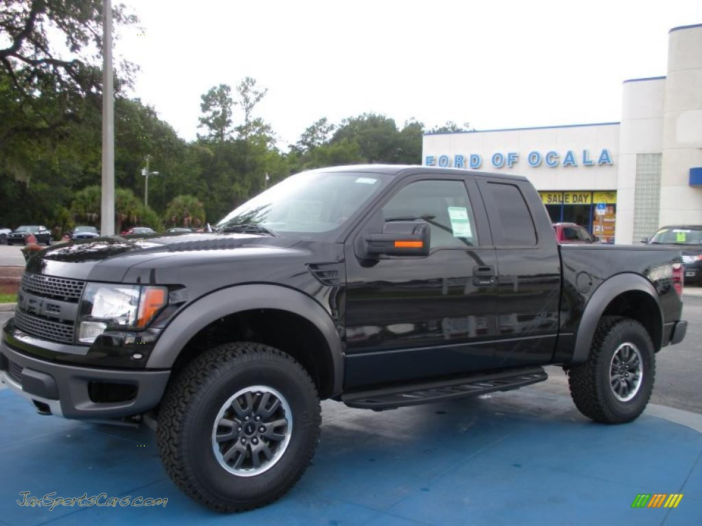 2010 Ford F150 Svt Raptor Supercab 4x4 In Tuxedo Black D09386 Jax Sports Cars Cars For