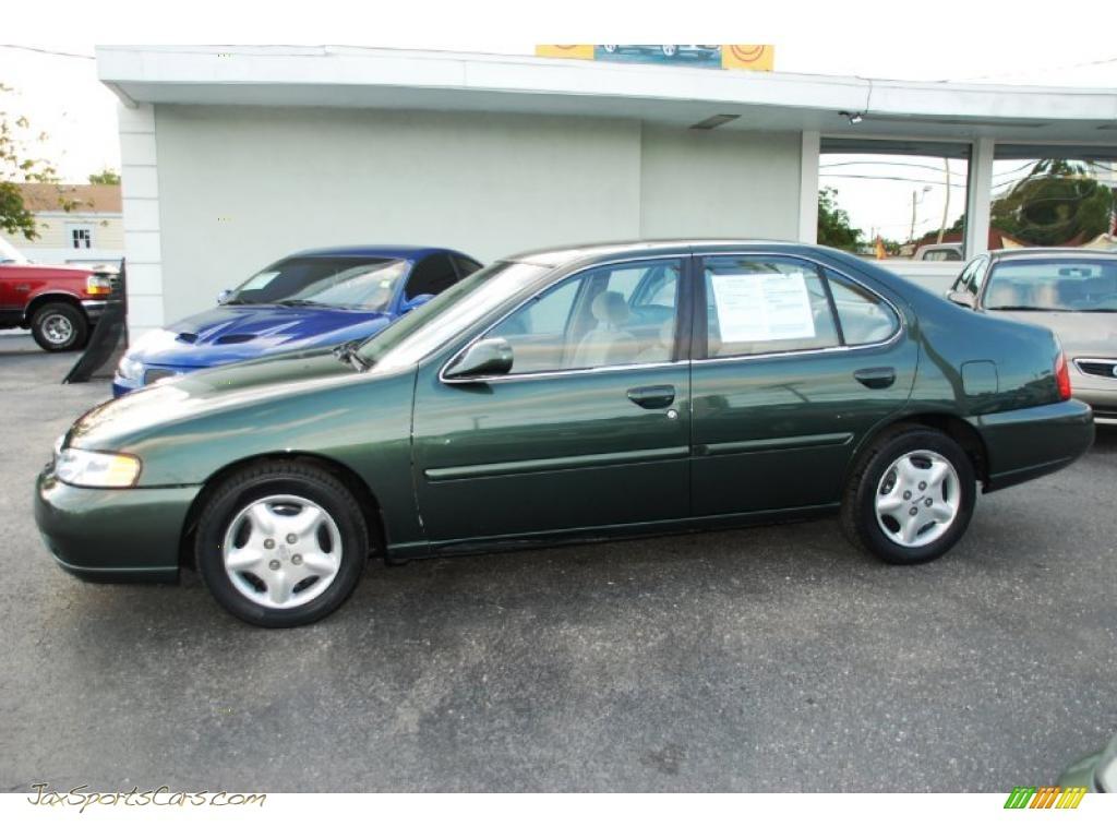 2000 Nissan Altima Gxe In Green Emerald Metallic 199385