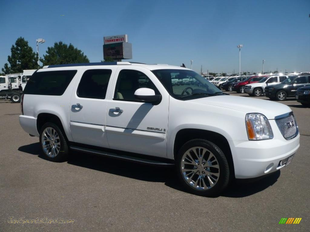 Summit white cocoa light cashmere gmc yukon xl denali awd
