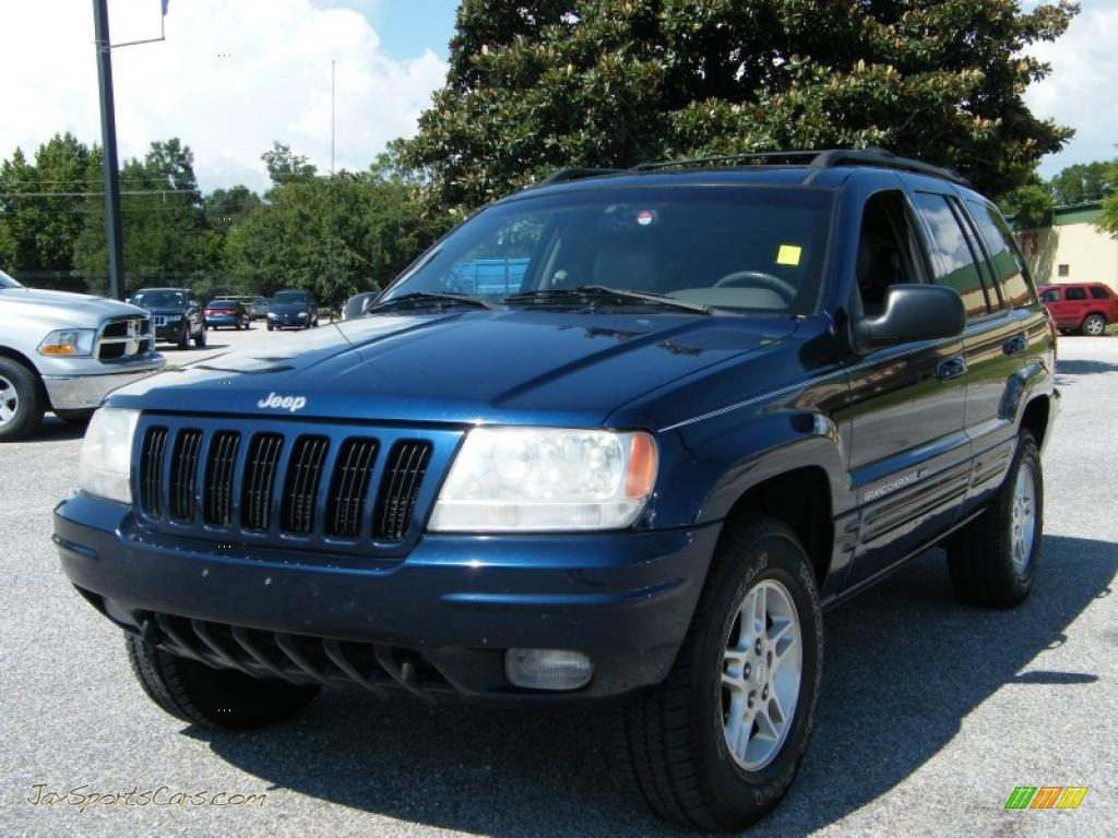 2000 grand cherokee limited 4x4 patriot blue pearlcoat agate photo. Black Bedroom Furniture Sets. Home Design Ideas