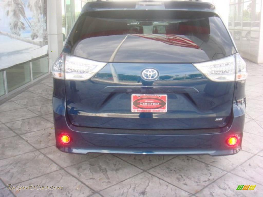 South Coast Acura >> 2011 Toyota Sienna SE in South Pacific Blue Pearl photo #4 ...