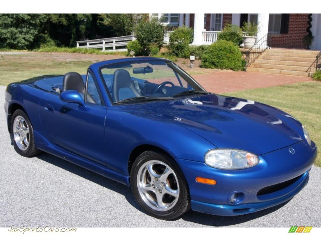 1999 mazda mx 5 miata 10th anniversary edition roadster in sapphire blue mica photo 5 131421. Black Bedroom Furniture Sets. Home Design Ideas