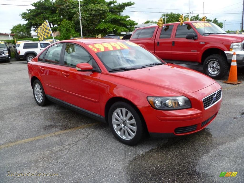 2004 Volvo S40 2.4i in Passion Red - 020862 | Jax Sports Cars - Cars for sale in FLorida
