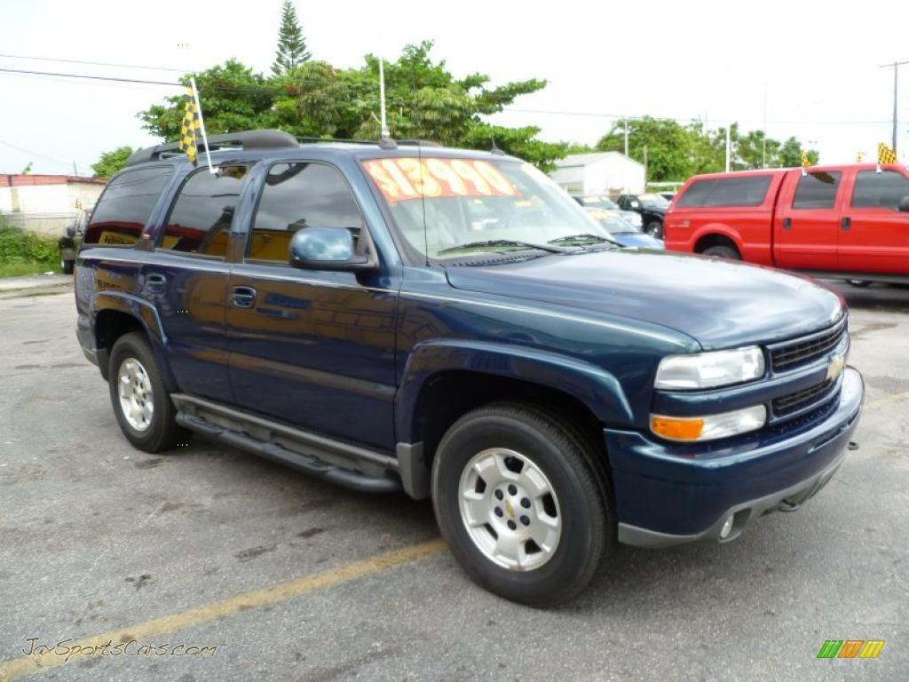 2005 chevrolet tahoe z71 in bermuda blue metallic 147276 jax sports cars cars for sale in. Black Bedroom Furniture Sets. Home Design Ideas