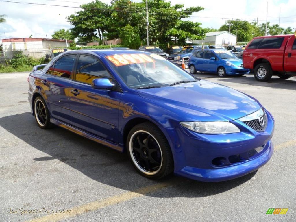 2003 Mazda Mazda6 S Sedan In Sonic Blue Pearl M26202