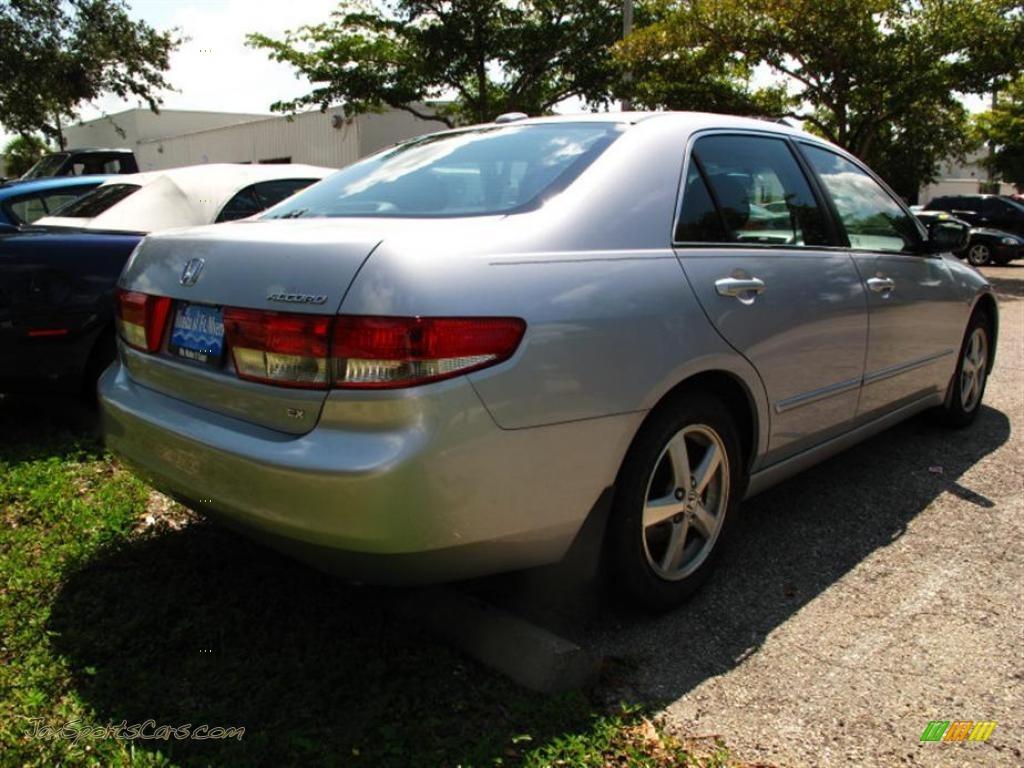 2004 Honda Accord Ex L Sedan In Satin Silver Metallic Photo 3 118799 Jax Sports Cars Cars