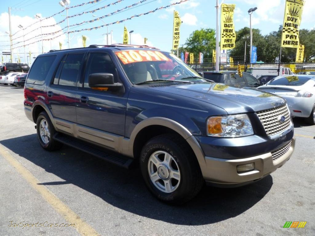 2003 ford expedition eddie bauer in medium wedgewood blue metallic. Cars Review. Best American Auto & Cars Review