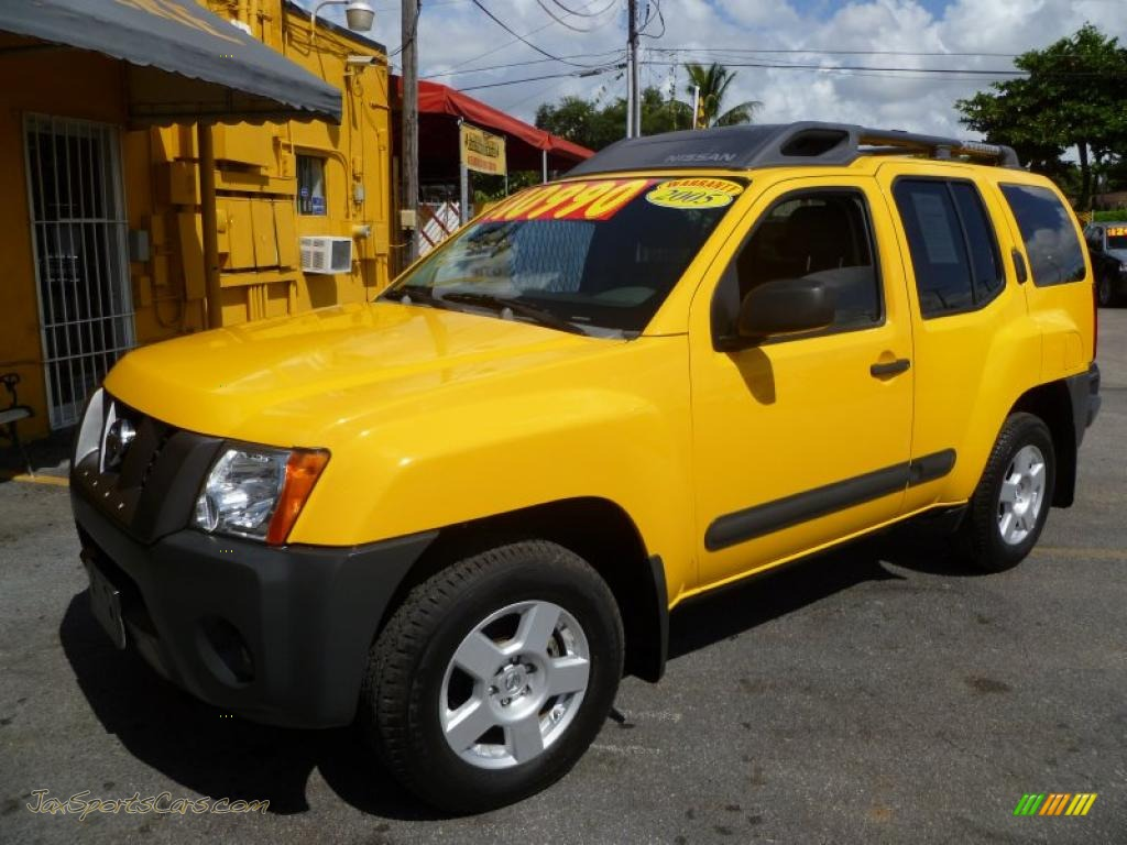 2005 Nissan Xterra S in Solar Yellow photo #3 - 624635  Jax Sports