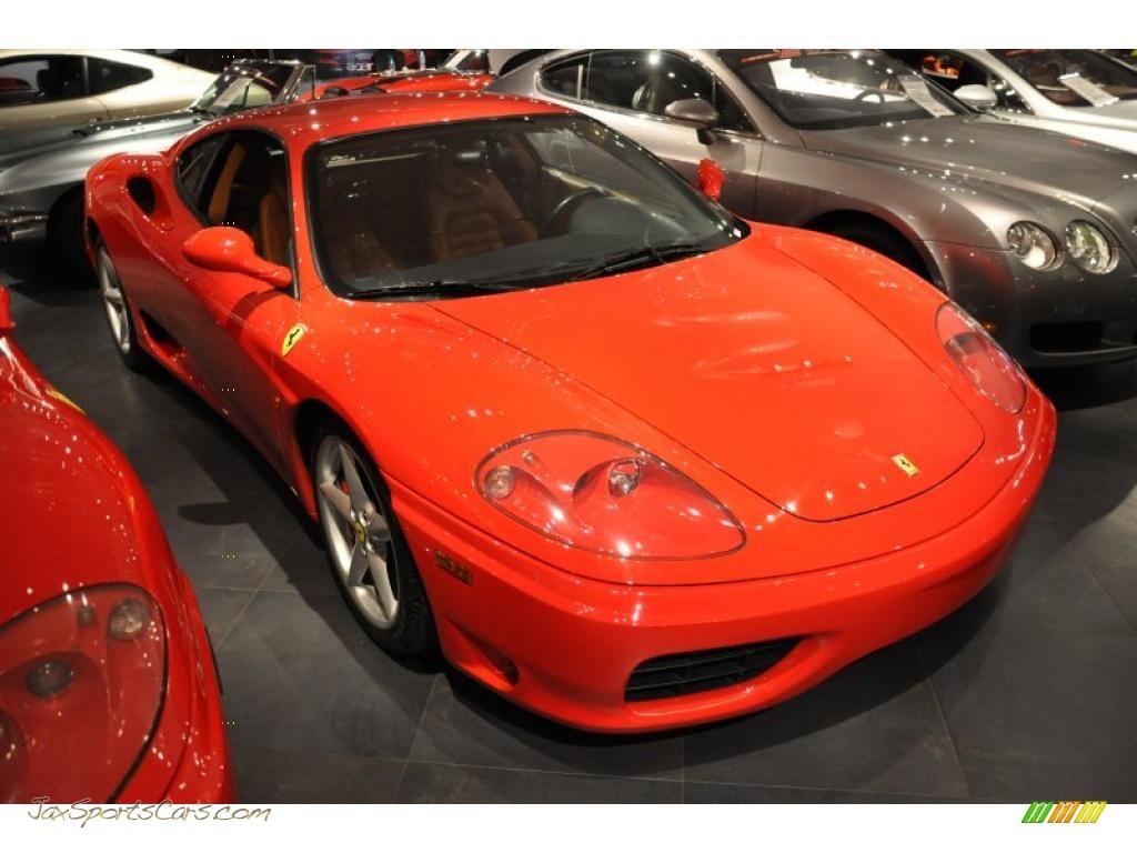2002 Ferrari 360 Modena In Red 129596 Jax Sports Cars Cars For Sale In Florida