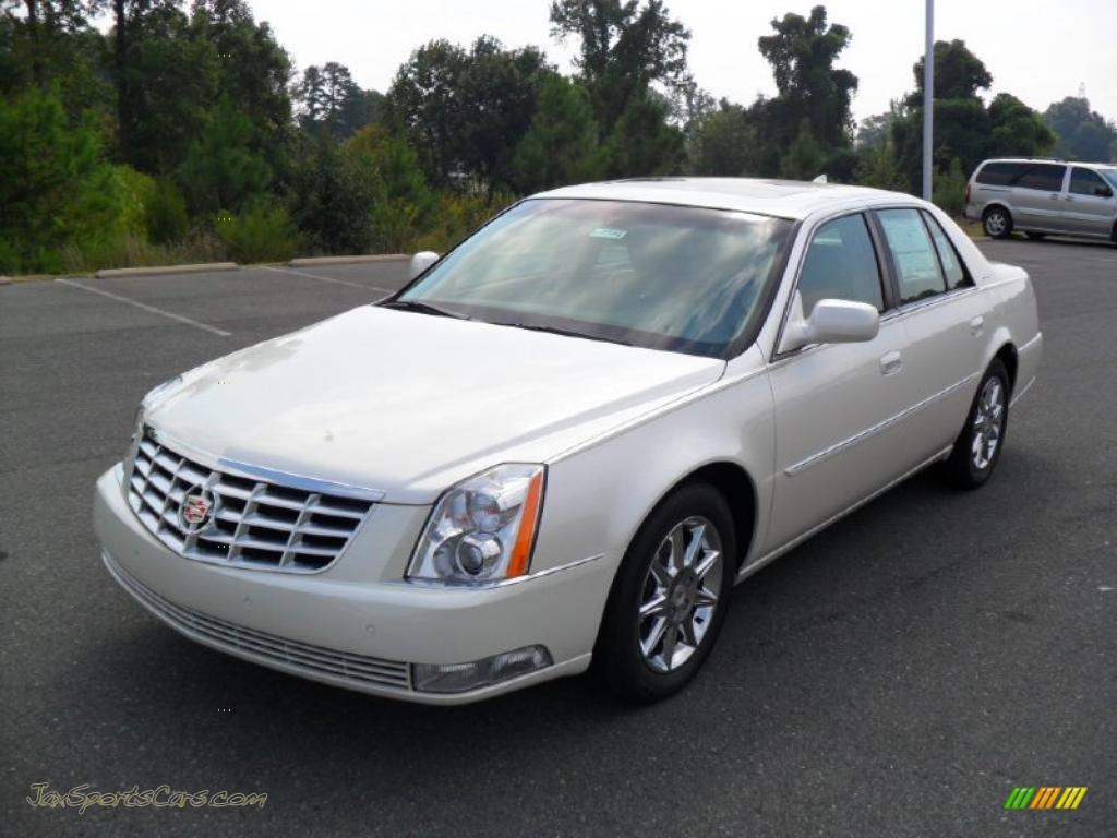 2011 cadillac dts luxury in white diamond tricoat 113566 jax sports cars cars for sale in. Black Bedroom Furniture Sets. Home Design Ideas