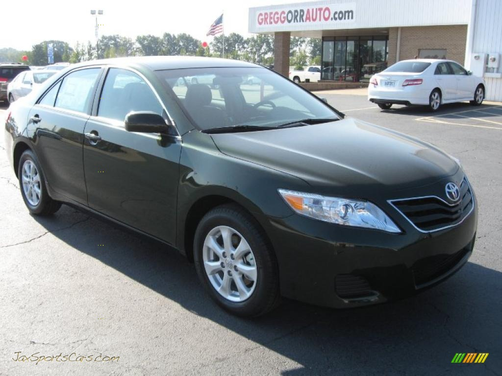 2011 toyota camry le in spruce green mica 646815 jax sports cars cars for sale in florida. Black Bedroom Furniture Sets. Home Design Ideas