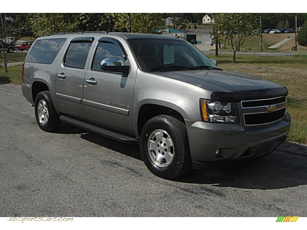 2007 chevrolet suburban 1500 lt 4x4 in graystone metallic. Black Bedroom Furniture Sets. Home Design Ideas